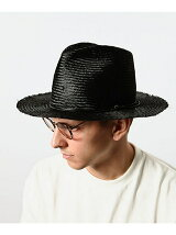 AJIRO BRAID LONG BRIM HAT