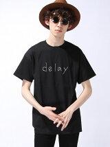 "【U】GD Tシャツ ""delay"""