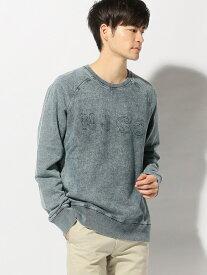 【SALE/40%OFF】nudie jeans nudie jeans/(M)Samuel ヌーディージーンズ / フランクリンアンドマーシャル カットソー スウェット ネイビー【送料無料】