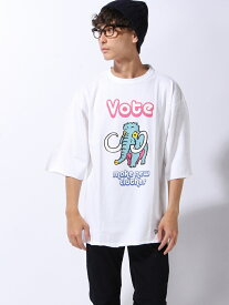 【SALE/15%OFF】VOTE MAKE NEW CLOTHES MAMMOTH TEE ヴォート メイク ニュー クローズ カットソー【RBA_S】【RBA_E】【送料無料】