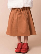 Kid's イレギュラーヘムギャザースカート
