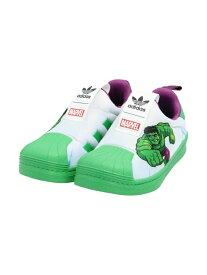 【SALE/60%OFF】adidas Originals (K)SST 360 C アディダス シューズ キッズシューズ グリーン ブルー ホワイト