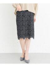 KBF+ レースタイトスカート