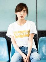 バットウィングTシャツ-ゴールド