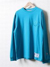 Champion(チャンピオン)ビッグロゴ刺繍ロングスリーブTシャツ