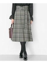 オリジナルチェックフレアスカート