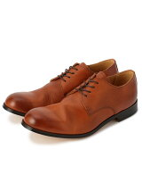 <PADRONE パドローネ>DERBY PLAIN TOE SHOES