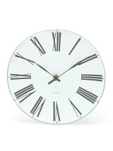 (U)ARNE JACOBSEN Wall Clock Roman 210mm