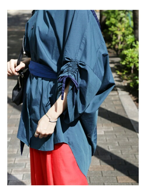 Belted Shirts Coat