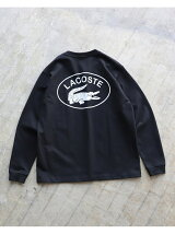 LACOSTE * BEAMS / 別注 Big Croco Long Sleeve T-shirt