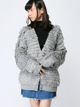 LOOP KNIT CARDIGAN