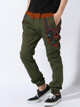 【M】Decoration Easy Pants