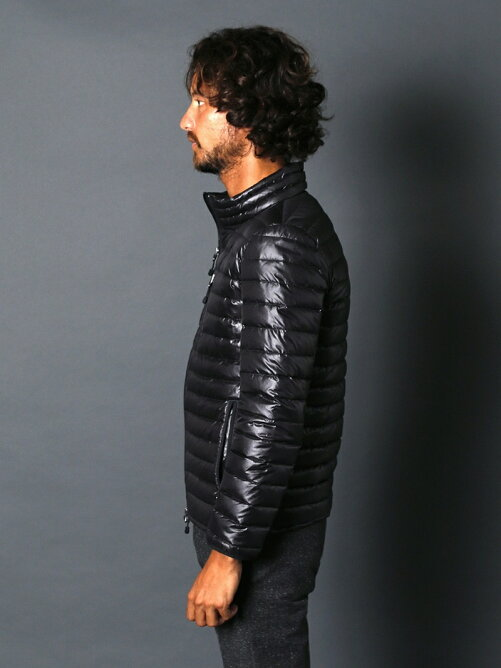 QUILTING NYLON HYBRID STAND DOWN JKT