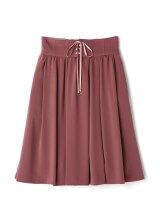 フレアレースアップスカート
