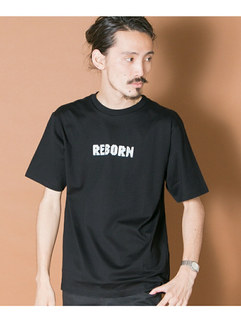 【SALE/50%OFF】URBAN RESEARCH REBORN LOGO T-SHIRTS アーバンリサーチ カットソー【RBA_S】【RBA_E】