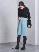 □UBCS ラメ タック タイトスカート