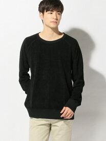 【SALE/40%OFF】nudie jeans nudie jeans/(M)Samuel ヌーディージーンズ / フランクリンアンドマーシャル カットソー スウェット ブラック【送料無料】