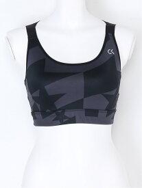 【SALE/70%OFF】Calvin Klein Underwear (W)CALVIN KLEIN UNDERWEAR/STAR STRIPE SPORTS BRA カルバン・クライン インナー/ナイトウェア ブラジャー ブラック ホワイト