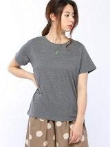 スズラン刺繍Tシャツ