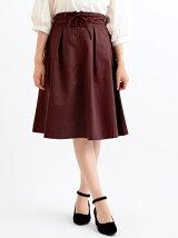 ウエストレースアップスカート
