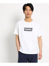 【SALE/64%OFF】THE SHOP TK ロゴプリント半袖Tシャツ ザ ショップ ティーケー カットソー Tシャツ ホワイト ブラック ベージュ ピンク