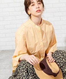 【SALE/37%OFF】coen 【WEB限定カラー】ブロードバンドカラーショートスリーブシャツ# コーエン シャツ/ブラウス 長袖シャツ オレンジ ホワイト グレー ベージュ ブルー ネイビー