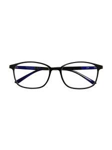 Zoff (U)ウェリントン型 PCメガネ(ブルーライトカット率約50%) ゾフ ファッショングッズ メガネ ブラック ブラウン【送料無料】