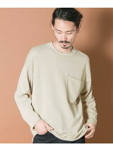 BIG POCKET LONG-SLEEVE DROP KNIT