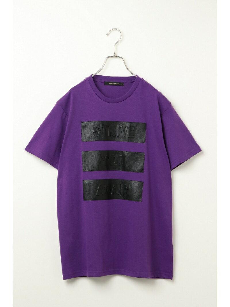【SALE/64%OFF】VENCE share style MENs エンボス加工Tシャツ ヴァンス エクスチェンジ カットソー【RBA_S】【RBA_E】