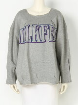 TUCK HEM SWEAT TOP