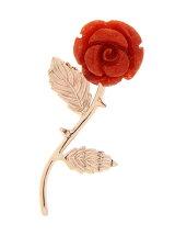 薔薇一輪ピアス