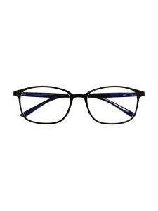 Zoff (U)ウェリントン型 PCメガネ (ブルーライトカット率約35%) ゾフ ファッショングッズ メガネ ブラック ブラウン【送料無料】