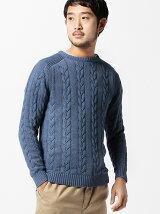 BEAMS / ケーブル ニット セーター