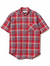 ビーミング by ビームス / マドラスチェック ショートスリーブシャツ BEAMS