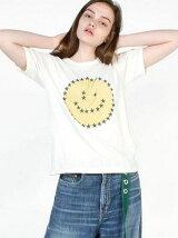 スタースマイルT/CベーシックTシャツ