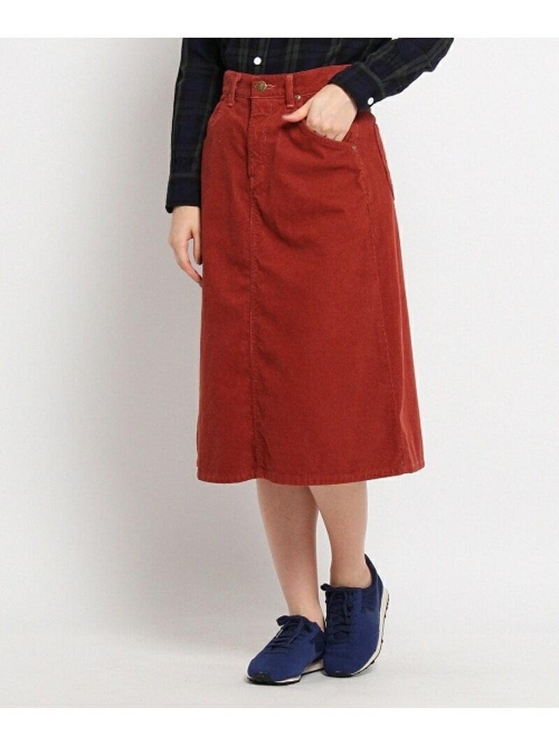 【SALE/30%OFF】Couture brooch Lee コーデュロイミディ丈スカート クチュールブローチ スカート【RBA_S】【RBA_E】【送料無料】