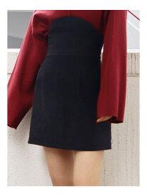 EMODA フィットコルセットミニスカート エモダ スカート ミニスカート ブラック グレー ブラウン【送料無料】