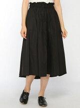 ギャザーフレアカラースカート