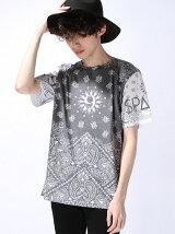 """【U】""""9"""" BANDANA Tシャツ"""