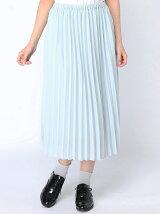 【レディース】ジョーゼットプリーツスカート