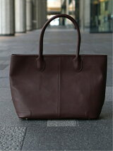 BEAMS / LEATHER TOTE <ギフト>
