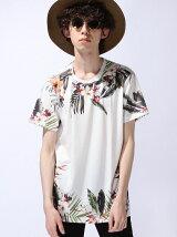 """【U】KS Tシャツ """"FLOWER"""""""