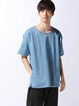 BEAMS / ストレッチ デニム Tシャツ