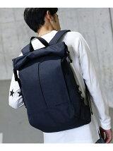 【WEB限定】ヘザー デザインロールバックパック