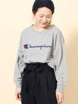Champion VネックロングスリーブTシャツ