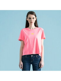 【SALE/58%OFF】Levi's グラフィックTシャツ SPTWR PFD WASHED NEON PINK リーバイス カットソー Tシャツ