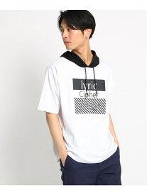【SALE/40%OFF】THE SHOP TK フード付きTシャツ ザ ショップ ティーケー カットソー Tシャツ ホワイト ブラック ベージュ パープル