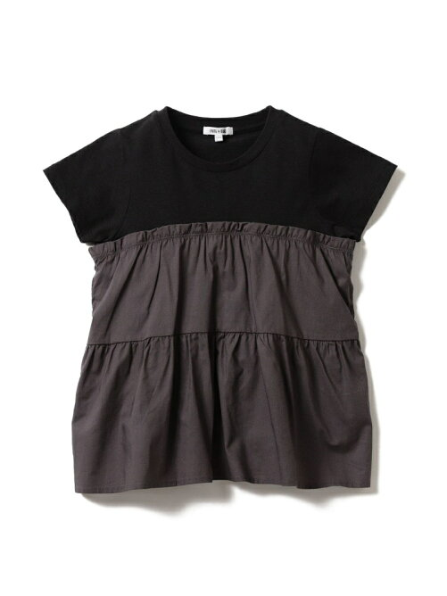 B:MING by BEAMS / 布帛コンビ カットソー 20SS(80~150cm) ビームス