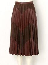 ジグザグプリーツスカート