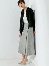 <SACRA(サクラ)>サイドスリット ラップスカート